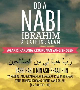 Doa Para Nabi Agar Dikaruniai Anak | بِسْمِ اللّهِ ...