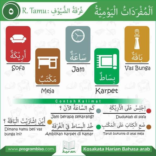 kosa kata harian bahasa arab5