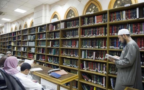 perpustakaan masjid nabawi madinah saudi arabia (2)
