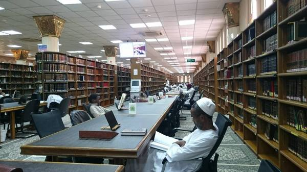 perpustakaan masjid nabawi madinah saudi arabia (3)