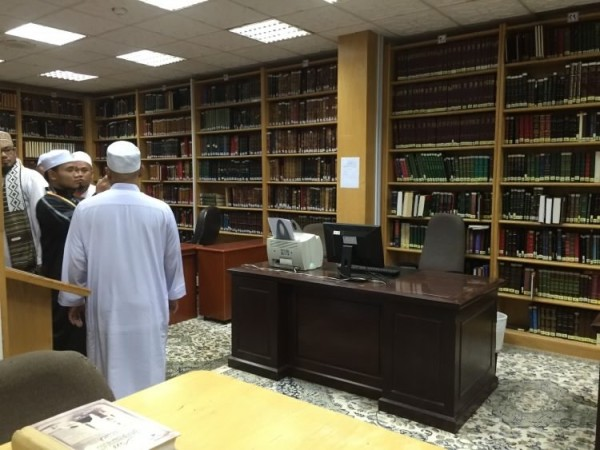 perpustakaan masjid nabawi madinah saudi arabia (4)