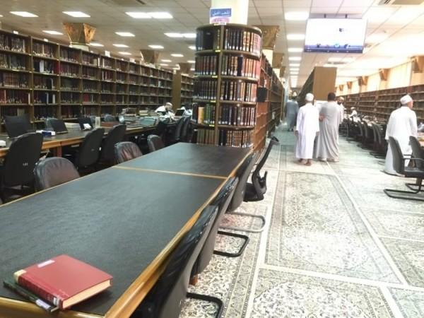 perpustakaan masjid nabawi madinah saudi arabia (5)