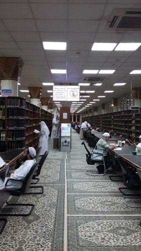 perpustakaan masjid nabawi madinah saudi arabia (6)