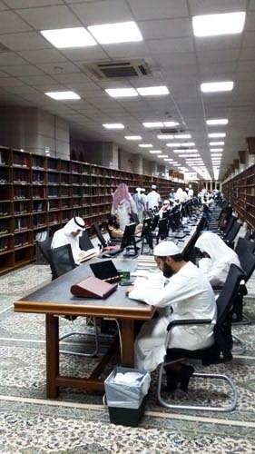 perpustakaan masjid nabawi madinah saudi arabia (7)