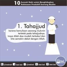10 kebiasaan produktif seorang muslim 1