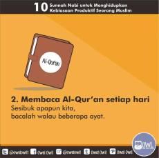 10 kebiasaan produktif seorang muslim 2