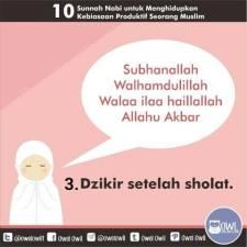10 kebiasaan produktif seorang muslim 3