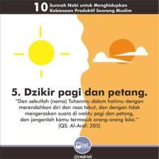10 kebiasaan produktif seorang muslim 5