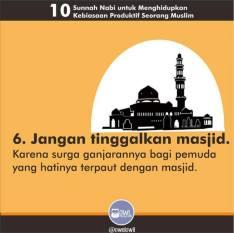 10 kebiasaan produktif seorang muslim 6