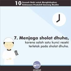 10 kebiasaan produktif seorang muslim 7