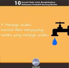 10 kebiasaan produktif seorang muslim 9