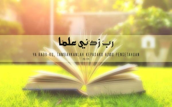 doa diberikan tambahan ilmu pengetahuan