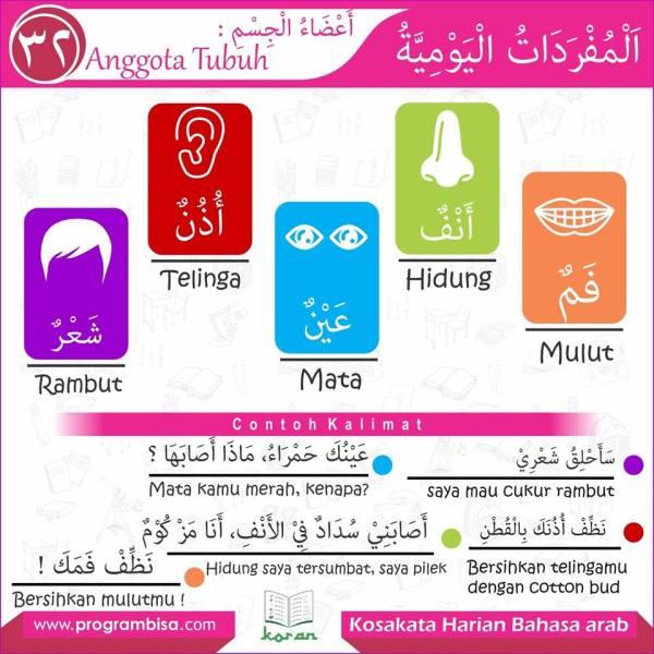 kosa kata harian bahasa arab 32