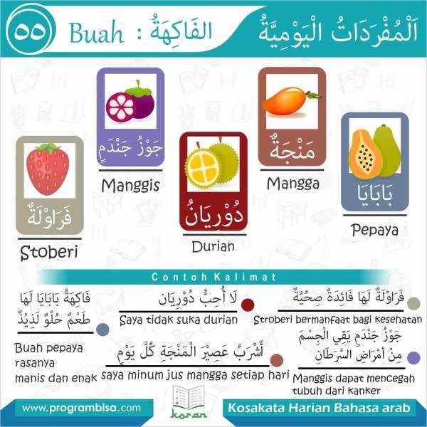kosakata harian bahasa arab 55
