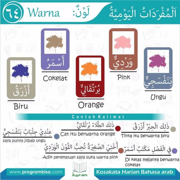 kosakata harian bahasa arab 64