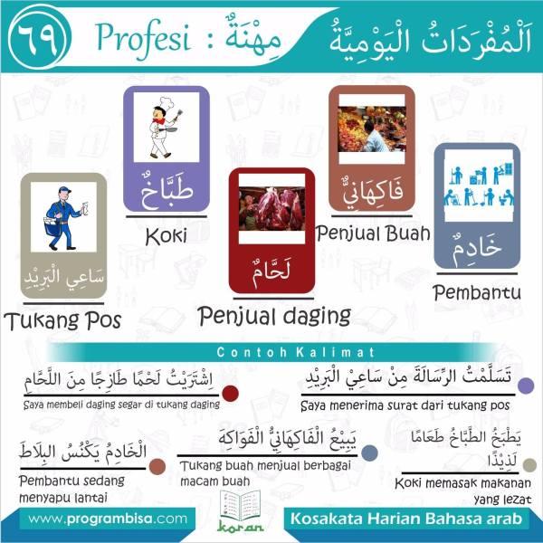kosakata harian bahasa arab 69