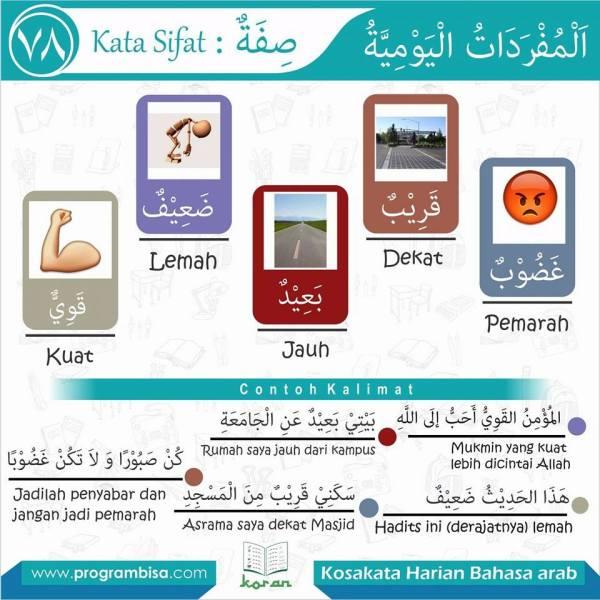 kosakata harian bahasa arab 78