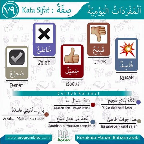 kosakata harian bahasa arab 79