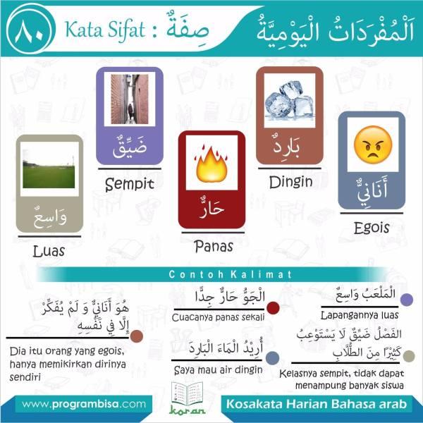 kosakata harian bahasa arab 80