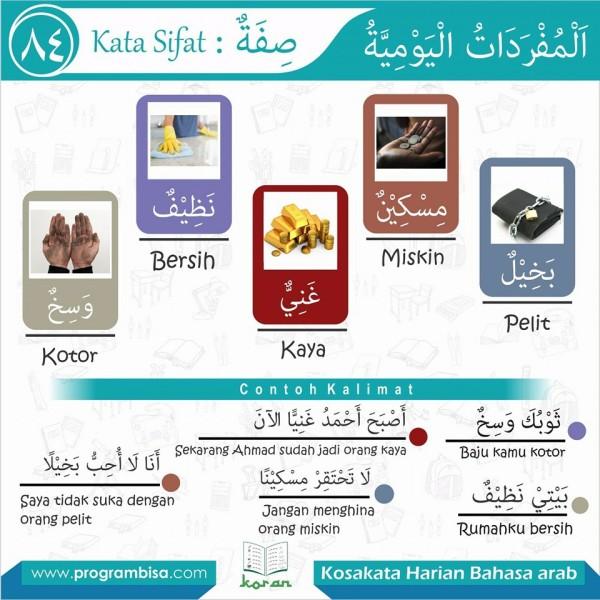 kosakata harian bahasa arab 84