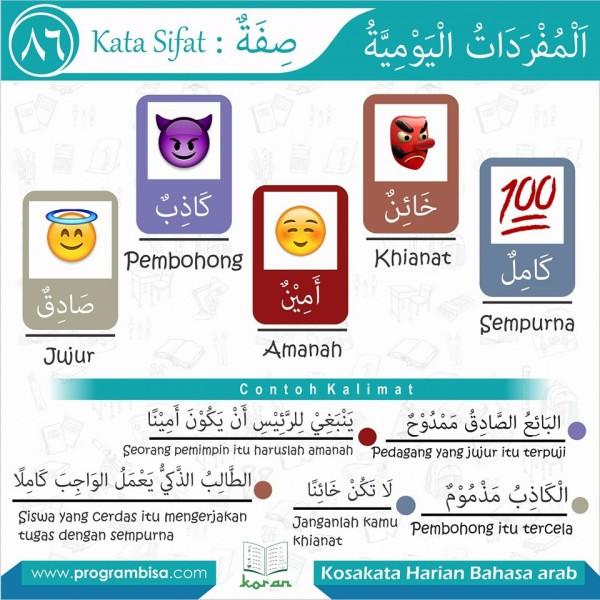 kosakata harian bahasa arab 86