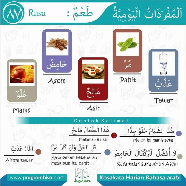 kosakata harian bahasa arab 87