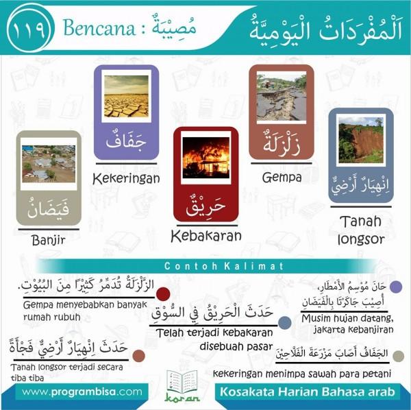 kosa kata harian bahasa arab 119