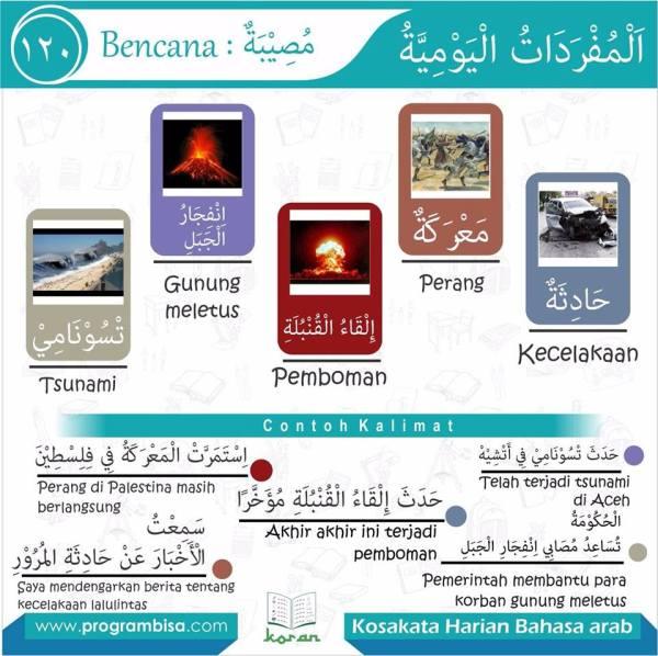 kosa kata harian bahasa arab 120