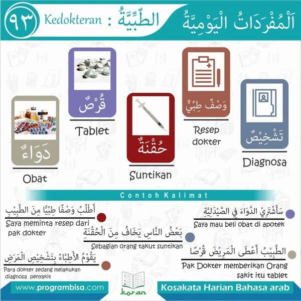 kosa kata harian bahasa arab 93