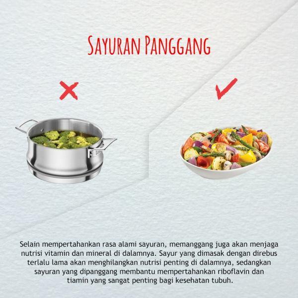 cara mengkonsumsi buah dan sayuran yang benar-sayuran