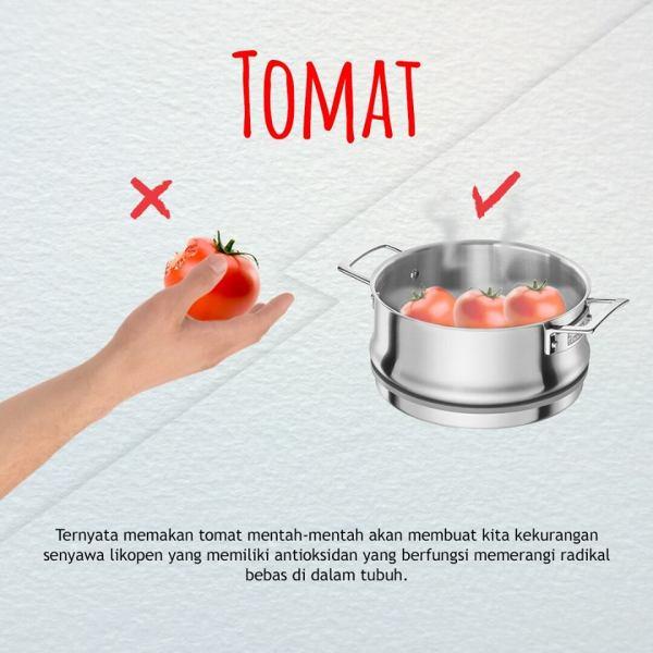 cara mengkonsumsi buah dan sayuran yang benar-tomat