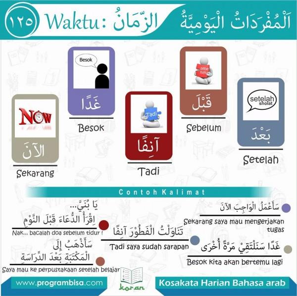 kosa kata bahasa arab 125