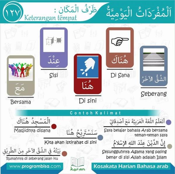 kosa kata bahasa arab 127