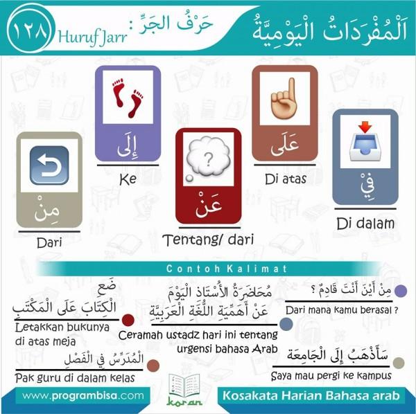 kosa kata bahasa arab 128