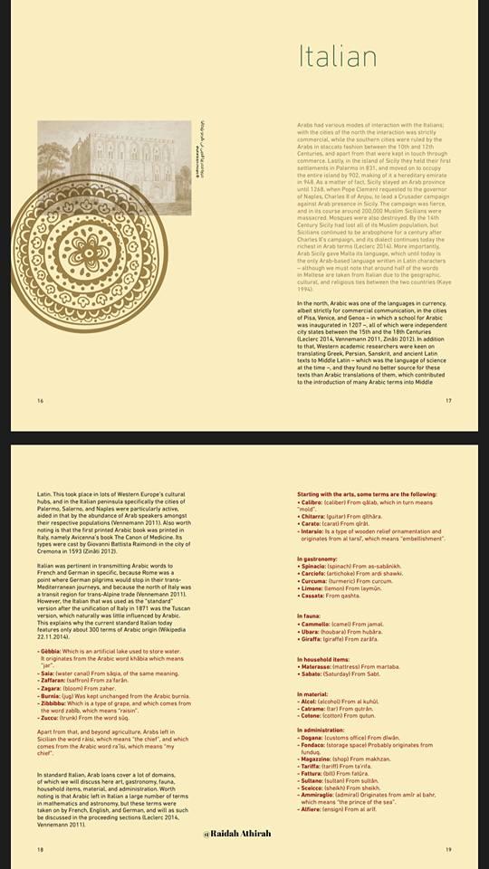 Bahasa Arab dan Pengaruhnya Terhadap Dunia (2)