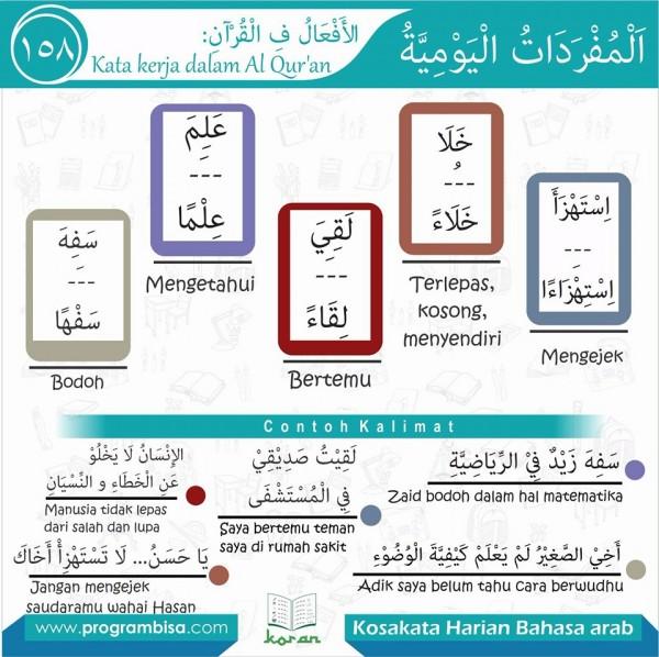 kosa kata harian bahasa arab 158