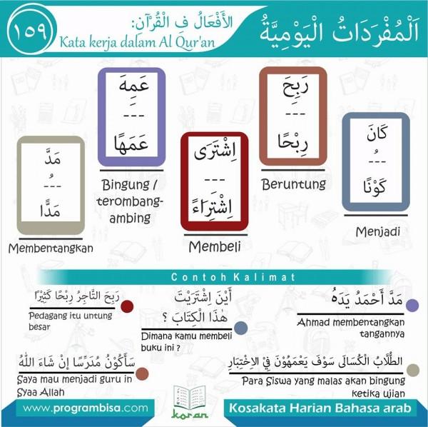 kosa kata harian bahasa arab 159