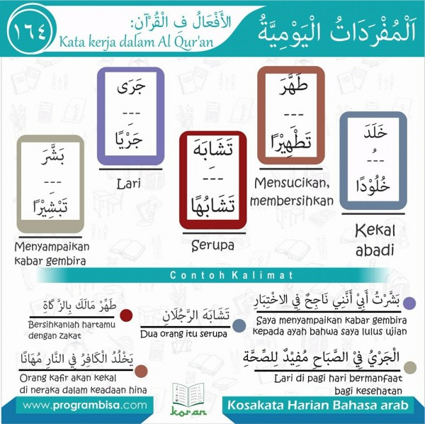 kosa kata harian bahasa arab 164