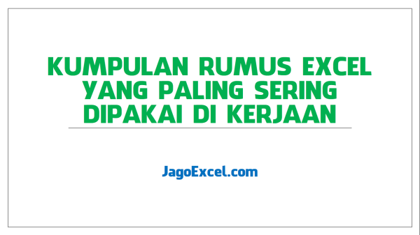 rumus excell