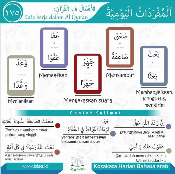 kosa kata harian bahasa arab 175